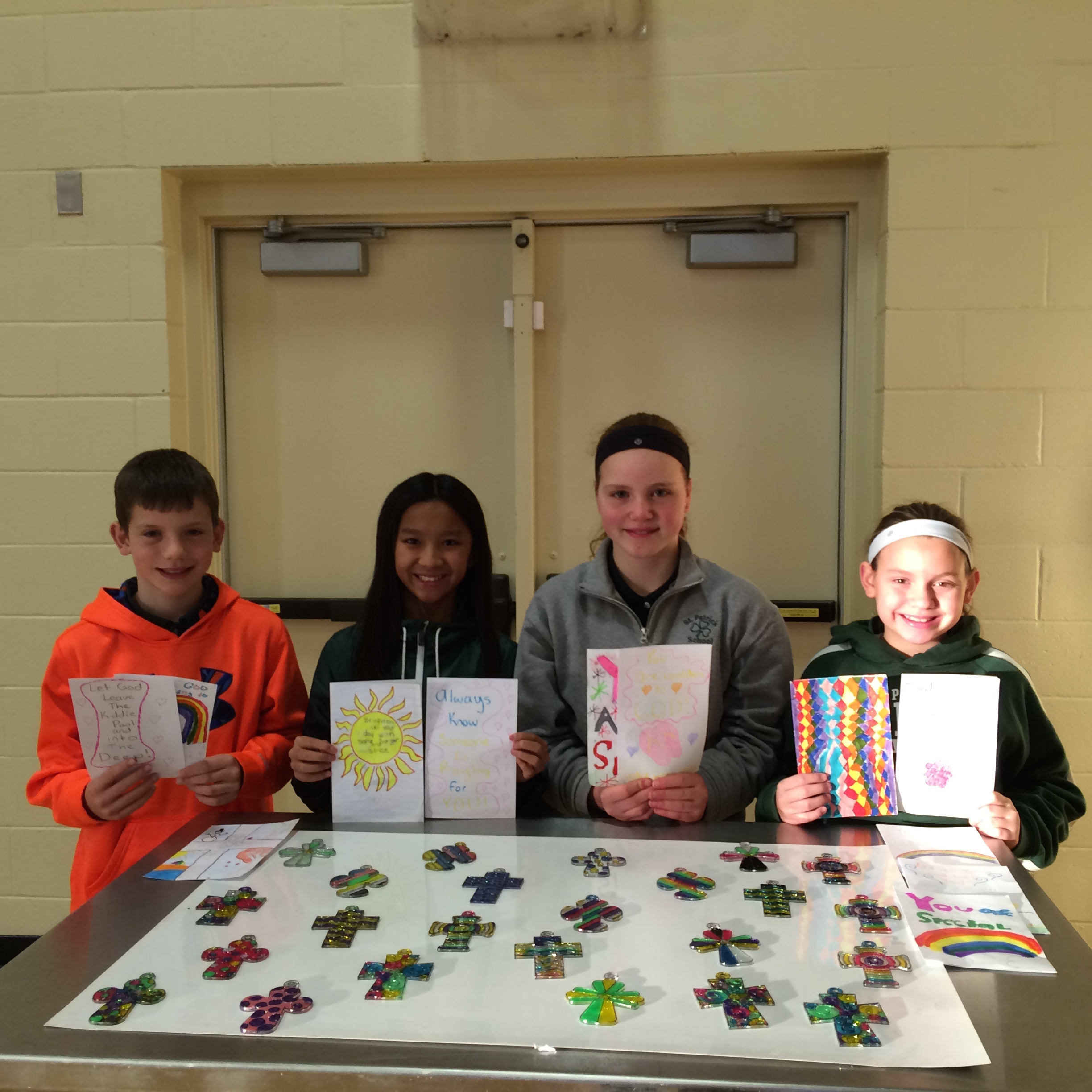 6th Grade Card Ministry for the Homebound