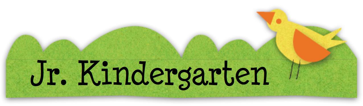 Junior Kindergarten | St. Patrick School